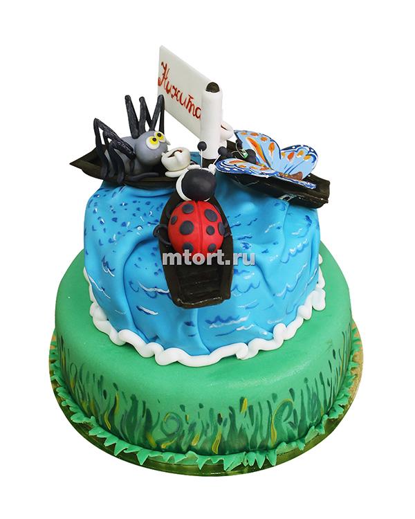 №164 Детский торт на день рождения