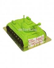 №168 3D Торт танк