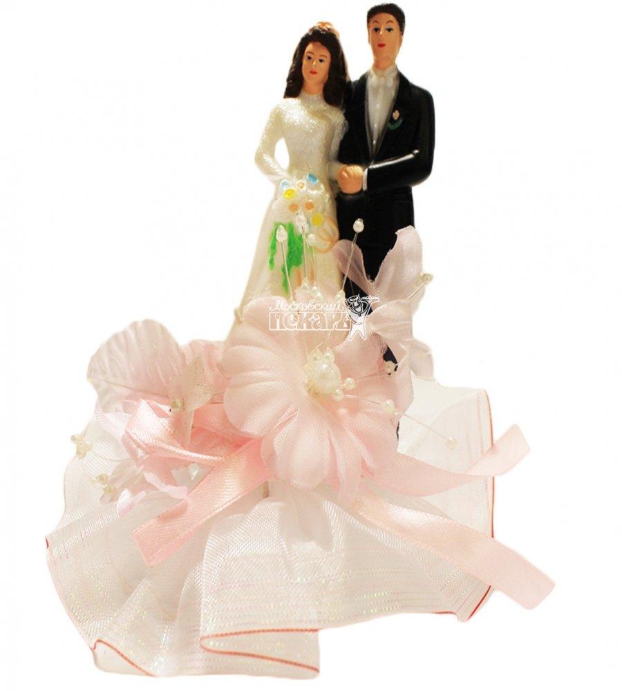 №833 Фигурка из полистирола жених и невеста
