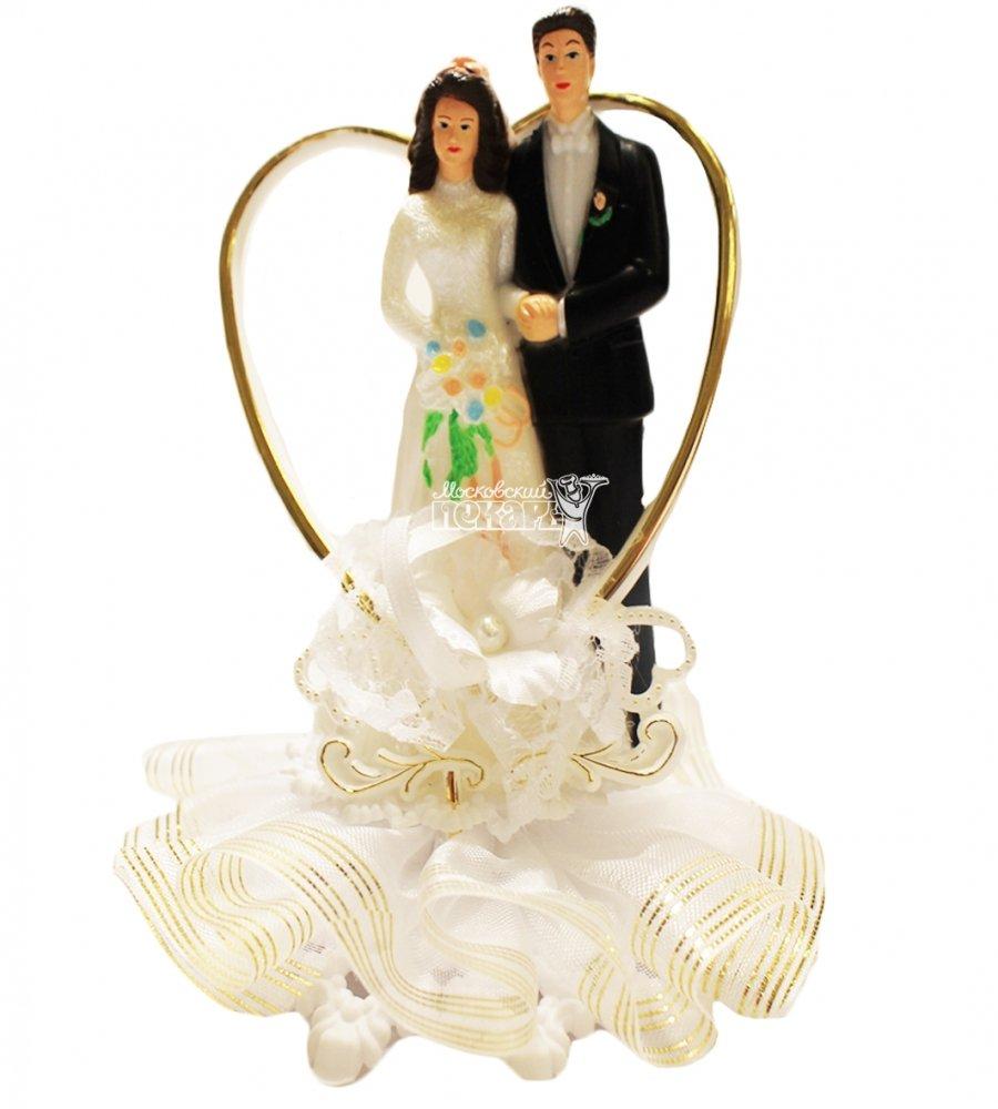 №835 Фигурка из полистирола жених и невеста