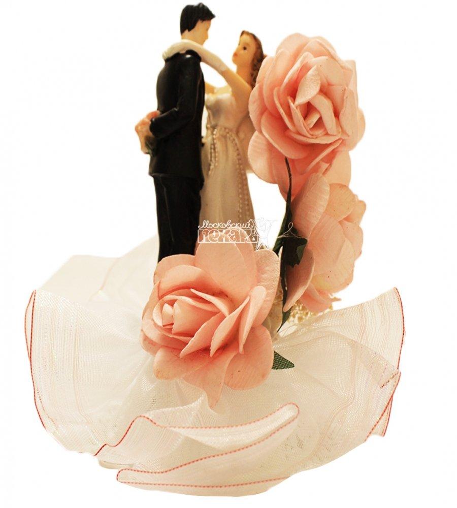 №849 Фигурка из полистирола жених и невеста 16 см