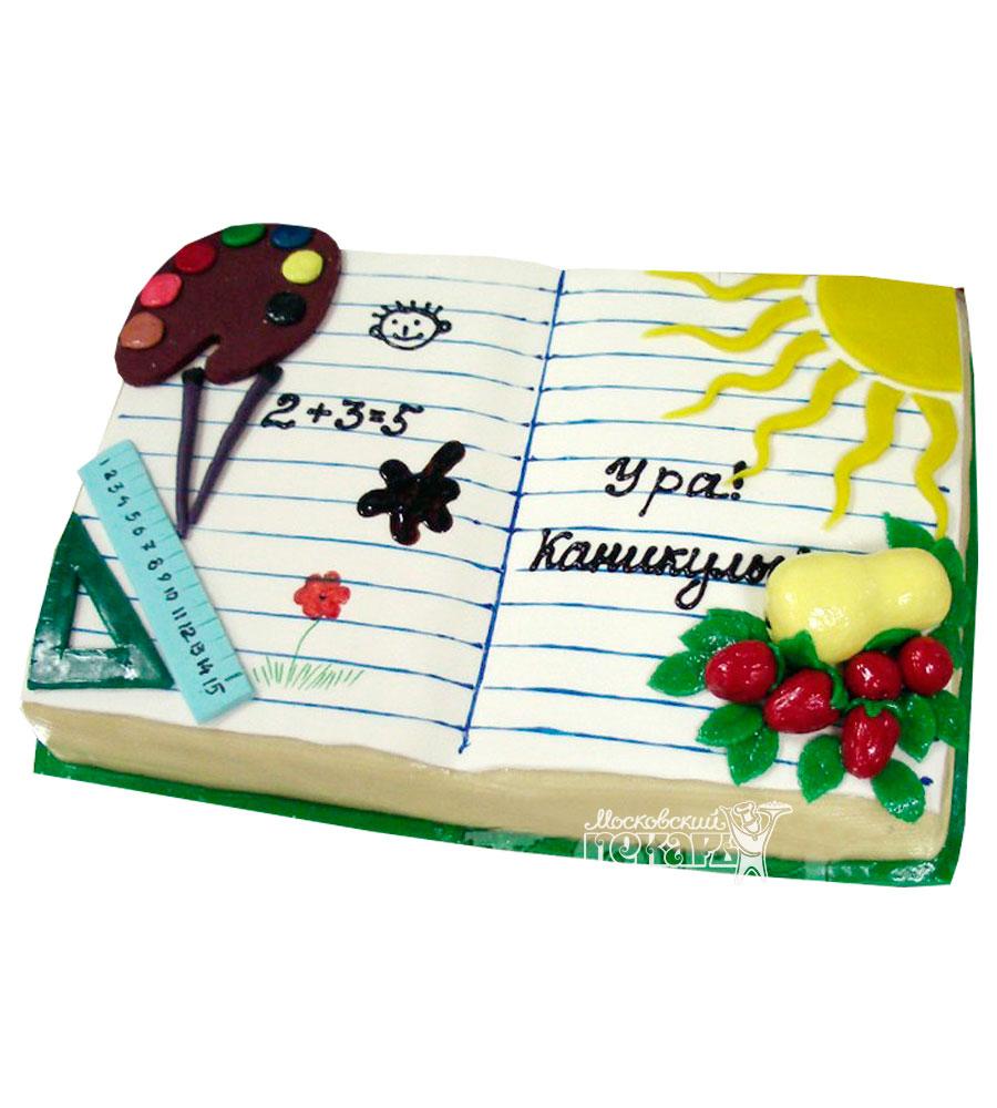 №904 Торт на последний звонок