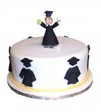 №909 Торт на выпускной