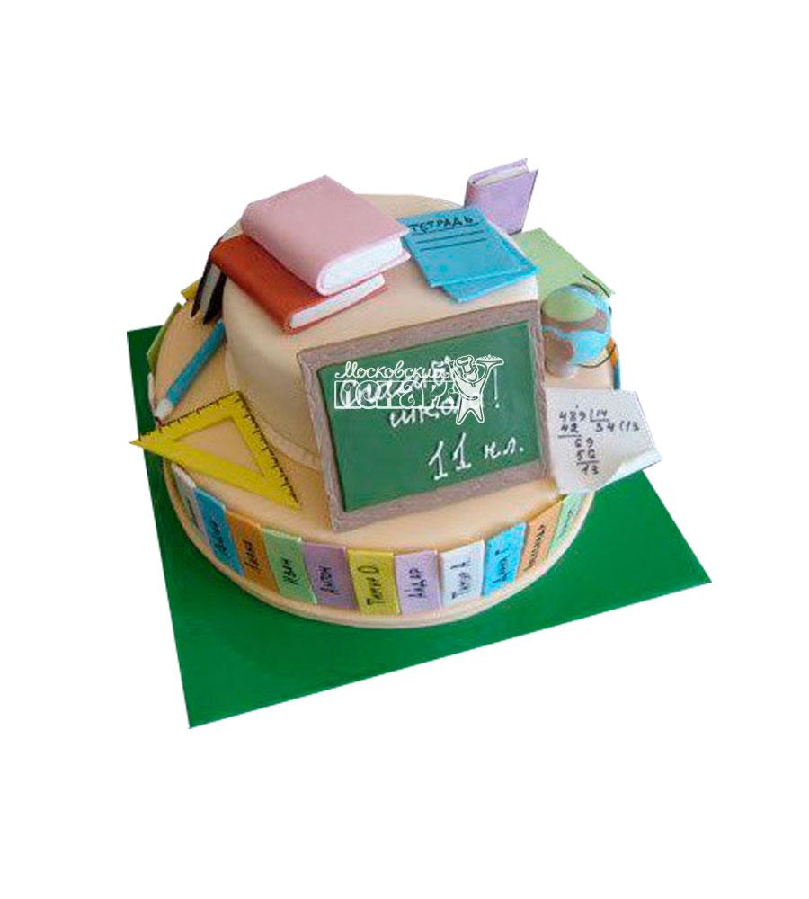 №912 Торт на выпускной