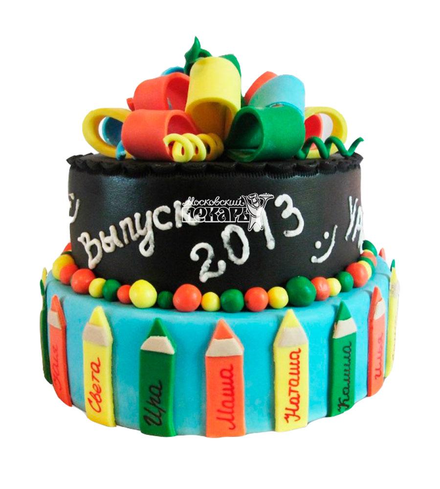 №928 Торт на выпускной