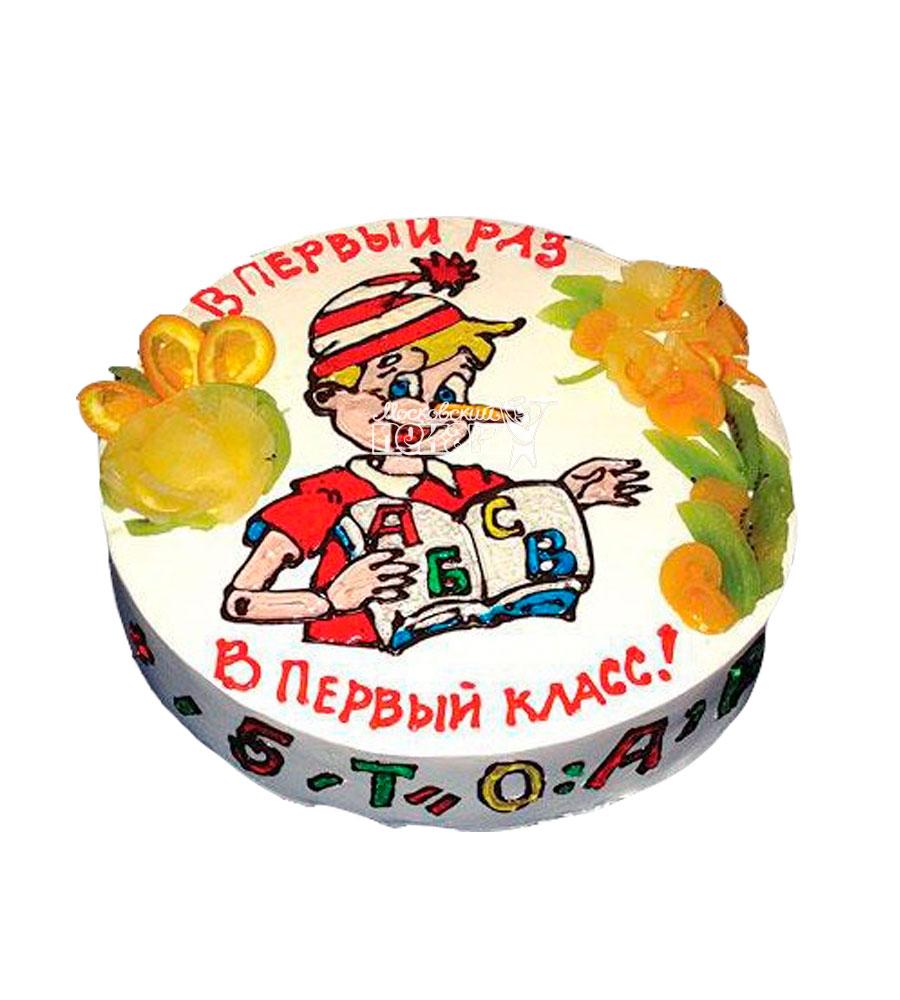 №933 Торт на 1 Сентября
