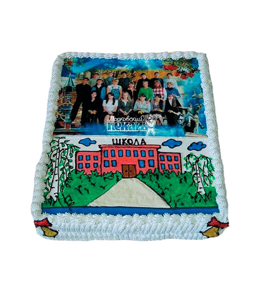 №934 Торт на выпускной