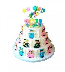 №936 Торт на выпускной