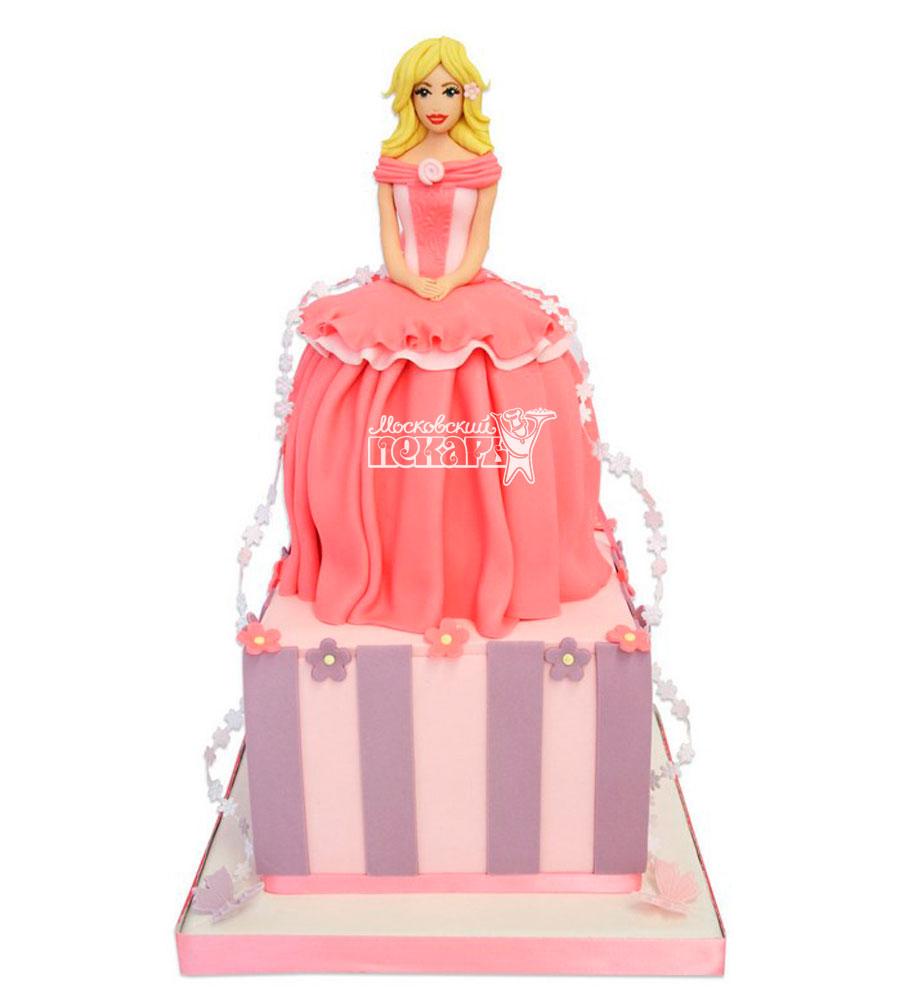 №940 Детский торт принцесса