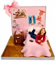 №1023 Детский торт для девочки