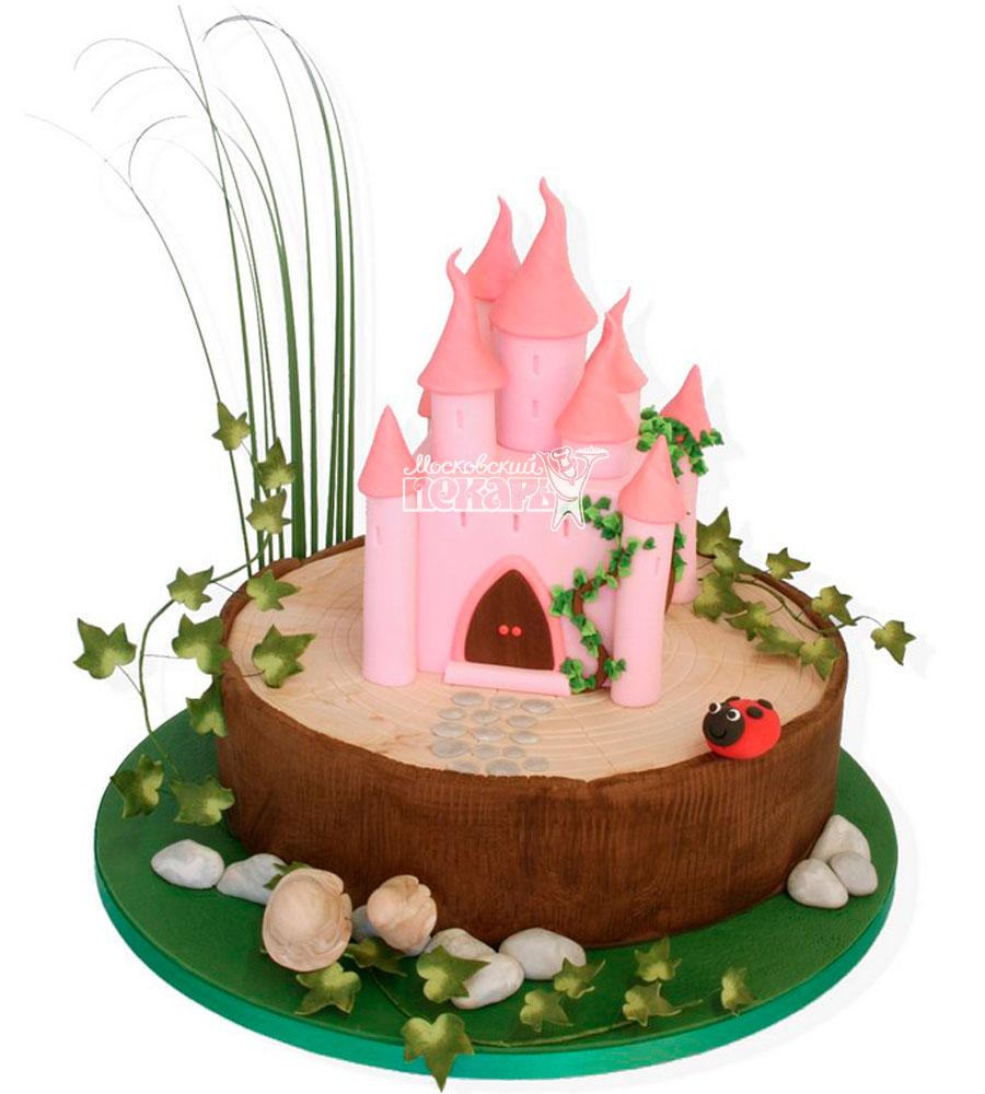 №1024 Детский торт замок