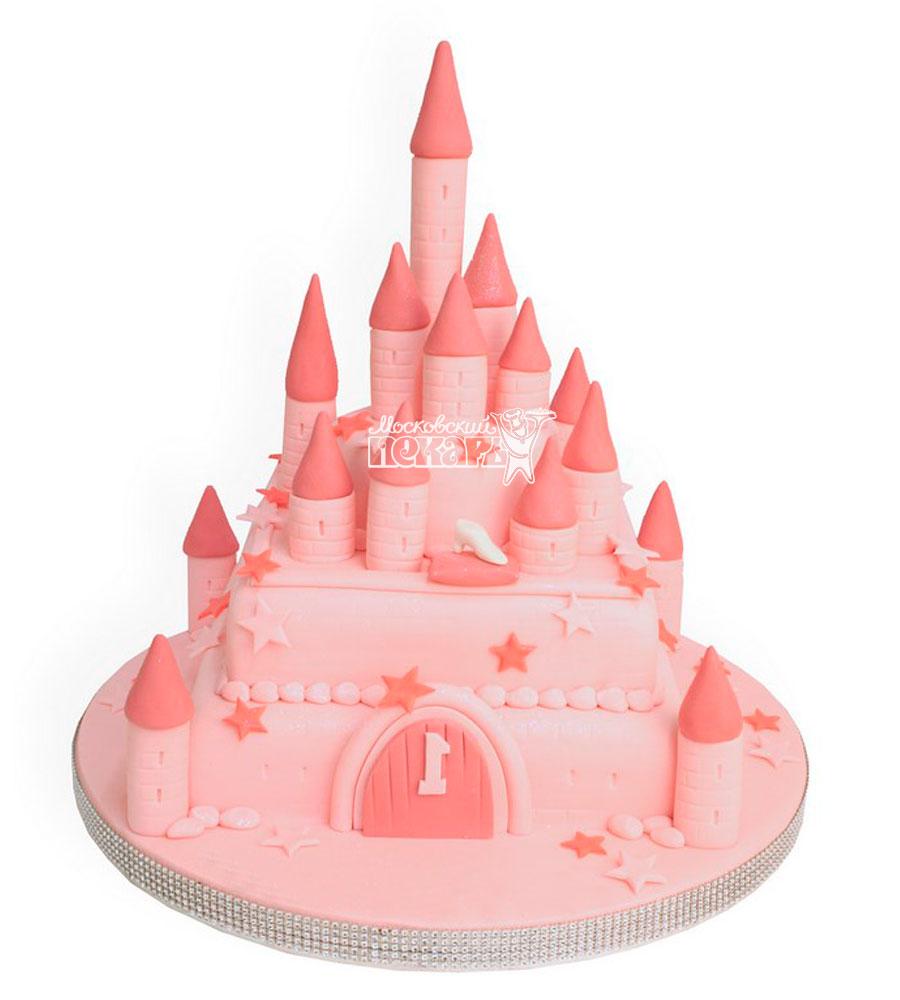 №946 Детский торт замок