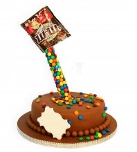 №947 Детский торт m&m
