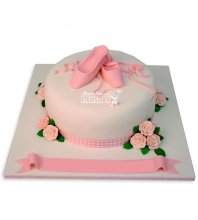 №1025 Детский торт с пуантами