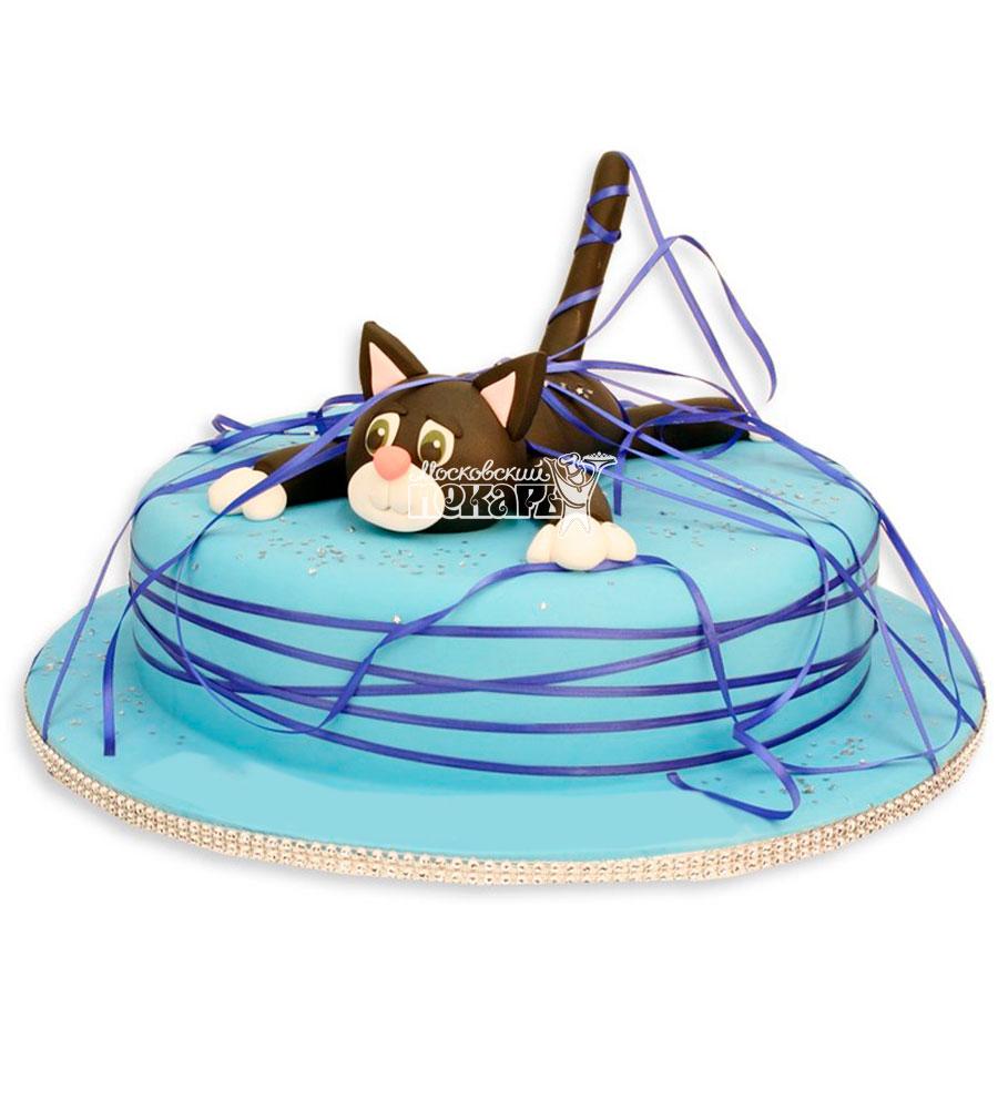 №949 Детский торт с котом