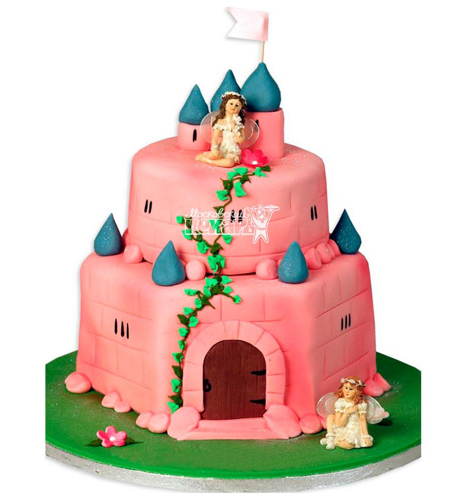 №951 Детский торт замок