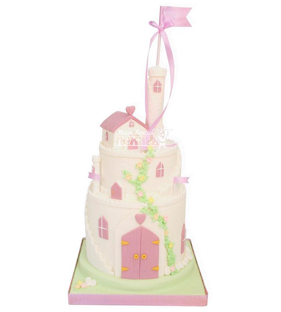 №956 Детский торт замок