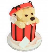 №957 Детский торт собачка