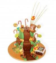 №959 Детский торт шоколадная река
