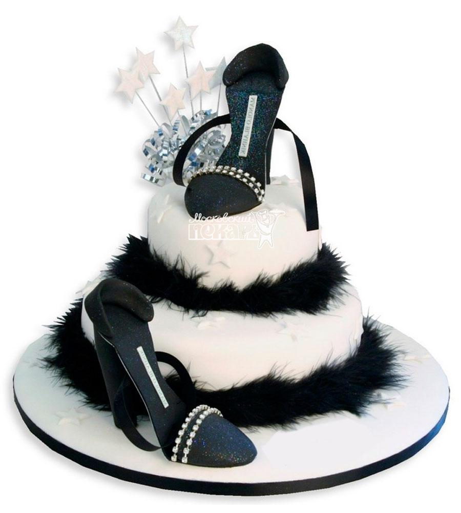 №961 Торт туфли