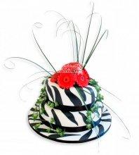 №962 Торт с цветами