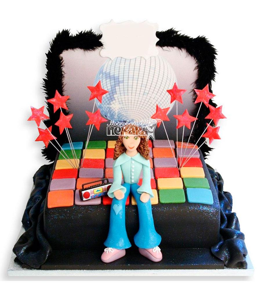 №973 Детский торт диско
