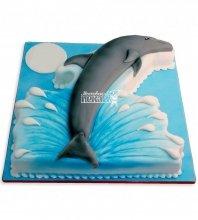 №974 Детский торт с дельфином