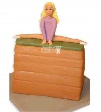№978 Детский торт гимнастка