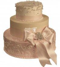 №991 Свадебный торт классический