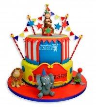 №1073 Детский торт цирк