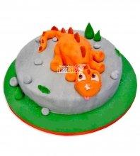 №1077 Детский торт динозаврик