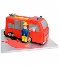№1079 Детский торт пожарный