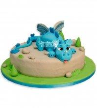 №1090 Детский торт динозаврик