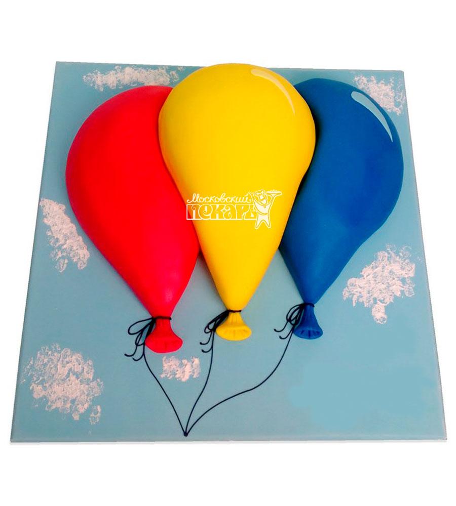 №1091 Детский торт воздушные шарики