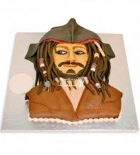 №1093 3D Детский торт пираты