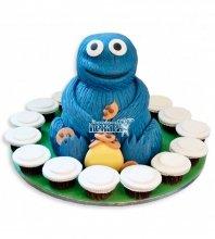 №1094 Детский торт монстр