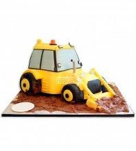 №1096 Детский торт трактор