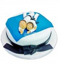 №1108 Детский торт карате