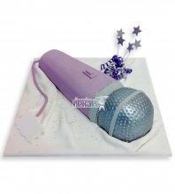 №1112 3D Торт микрофон