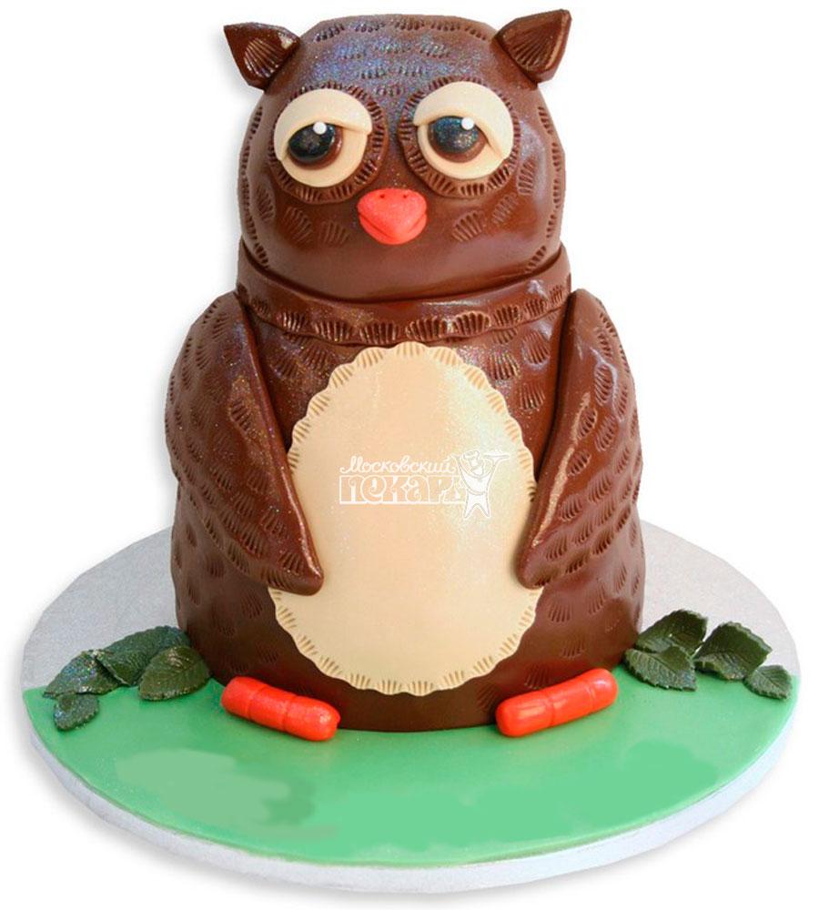 №1115 Детский торт сова