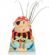 №1117 Детский торт с пиратом
