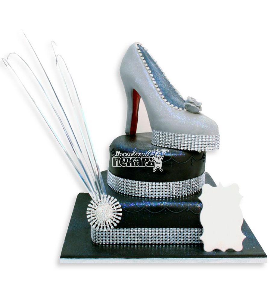 №1131 Женский торт туфли