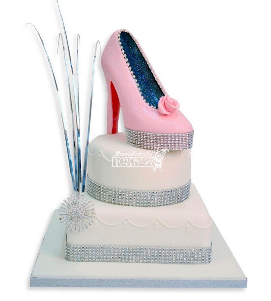 №1132 Женский торт туфли
