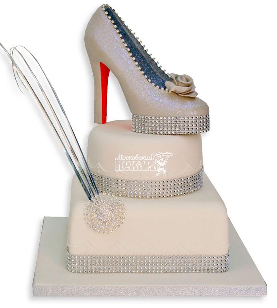 №1133 Женский торт туфли