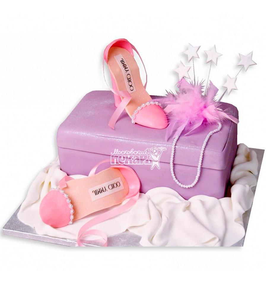 №1136 Женский торт туфли