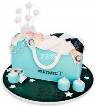 №1137 3D Женский торт сумочка