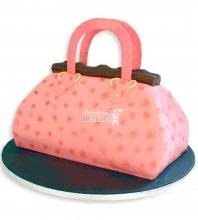 №1138 3D Женский торт сумочка