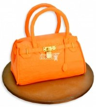№1141 3D Женский торт сумочка