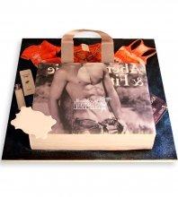 №1144 Женский торт сумочка