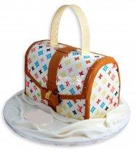№1148 3D Женский торт сумочка
